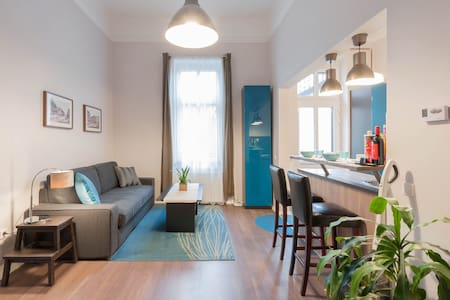 Andrassy Garden Apt in City Center - Budapest