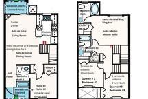 Planta da casa  - House plan