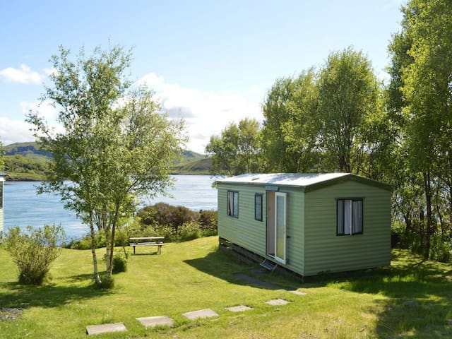 Birches, sea views, quiet & relaxing on the Island of Luing
