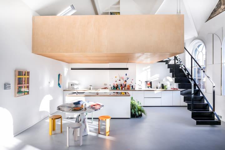 Blue House:  A Design Lover's Retreat