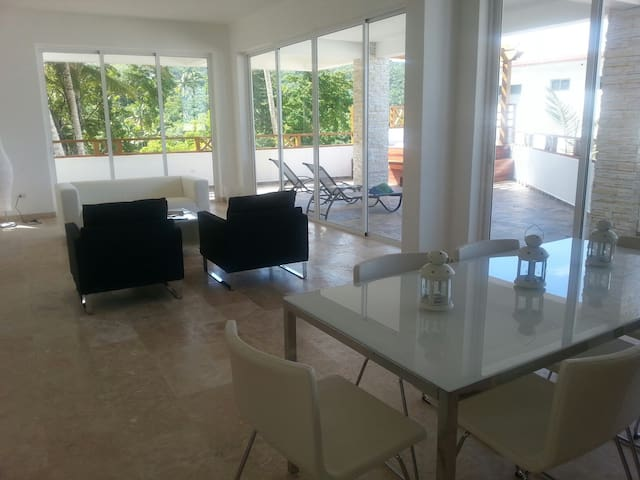 Brand new condo with pool! - Las Terrenas - Apartemen