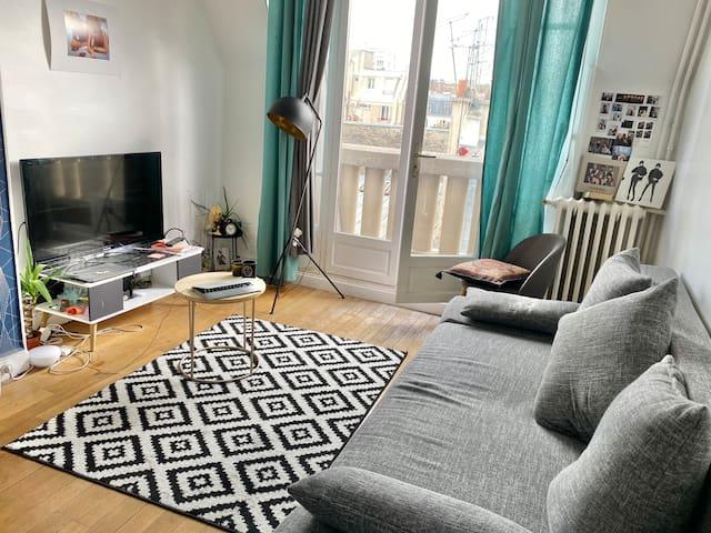 Appartement 28m2 (Paris 17ème)