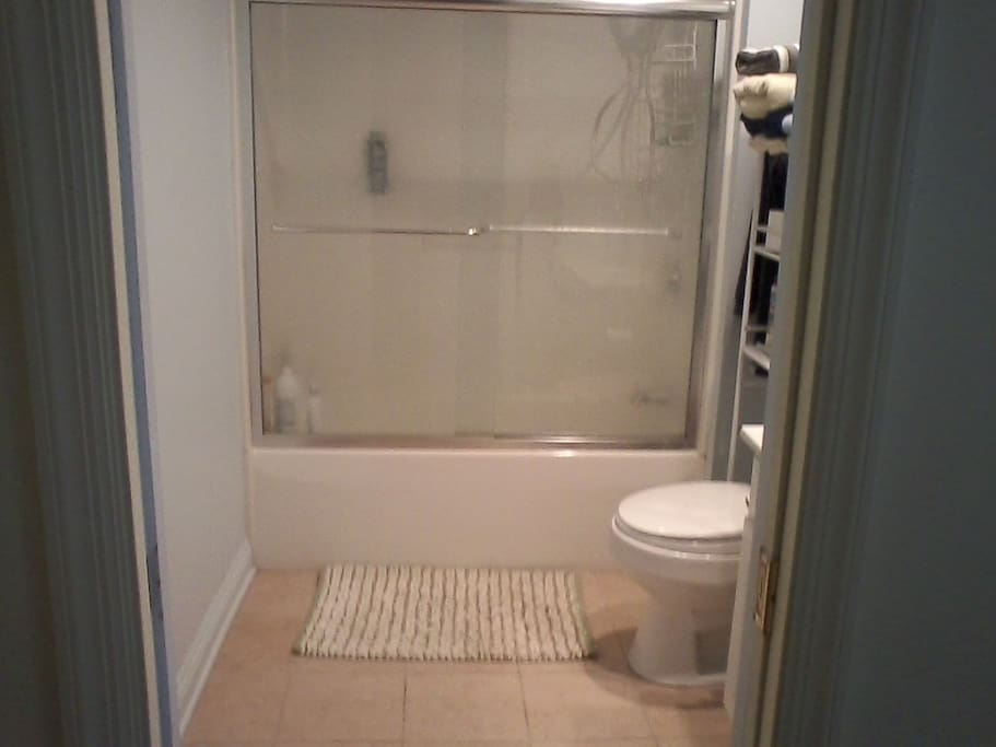 Bath/shower/first floor