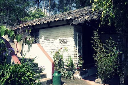 Private house in magnificent garden - Otavalo
