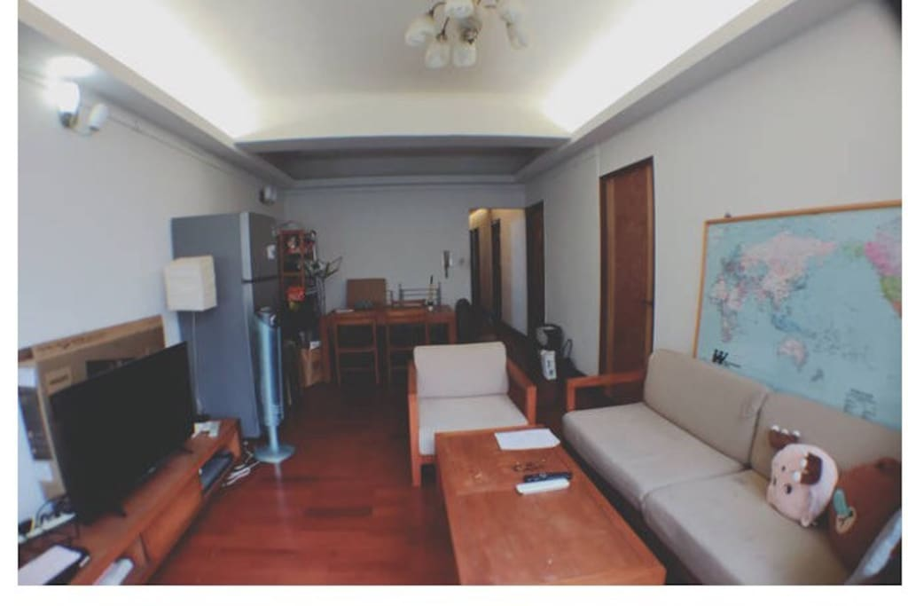 公共區域:客廳 living room