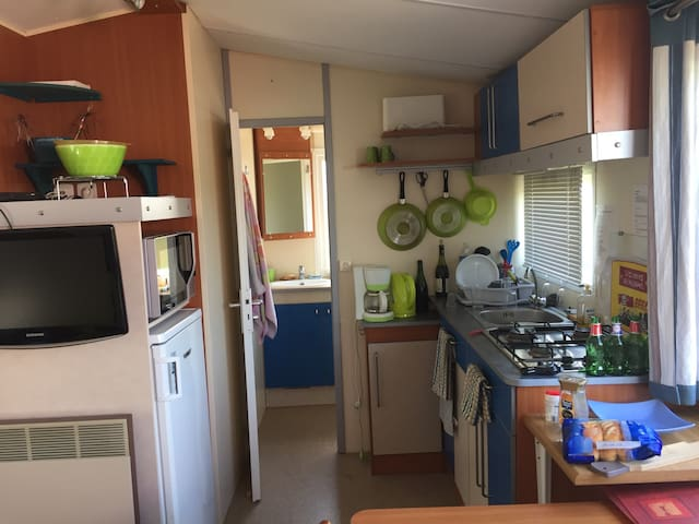 Loue mobile home 4 pl