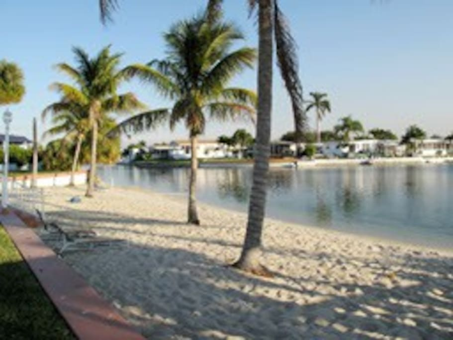 Community's very own beach or 10 min. close to the incredible Eastside Florida Beaches .