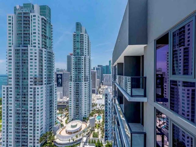 Beautiful apartment in the heart of downtown Miami