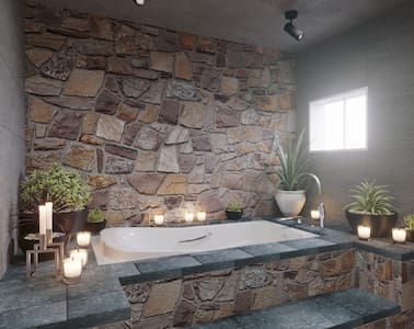 JACUZZI/ DOWN TOWN/HOSPITALITY/PICKUP AIRPORT