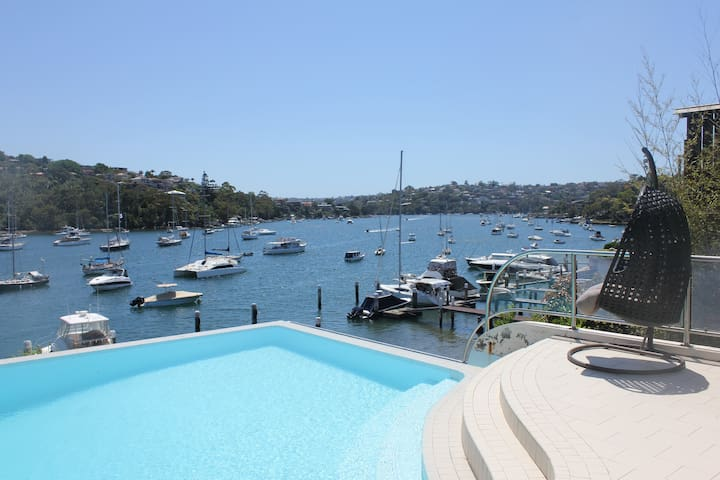 Amazing waterfront, private pool - Cammeray