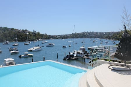 Amazing waterfront, private pool - Cammeray - Lägenhet