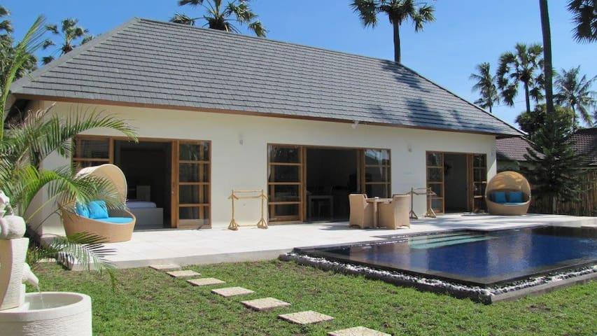 2 bedroom garden villa