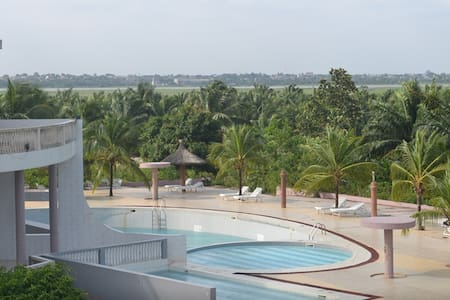 Large suite in beautiful resort - Cotonou