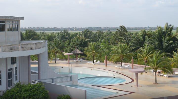 Large suite in beautiful resort