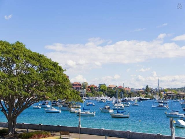 Beautiful Rose Bay waterfront 1br apartment - Rose Bay - Leilighet