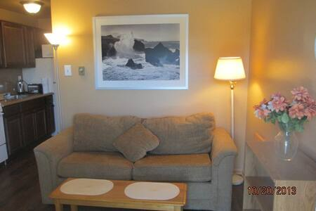REFURBISHED   AND FURNISHED ONE BEDROOM (PLUS SOFA  BED ) AT AN OCEAN FRONT CONDO--SORRY, NO CHIMNEY FOR SANTA  NEWLY REFURBISHED FURNISHED ONE BEDROOM CONDO ON THE BEACH   ENJOY A WEEK AT THE SHORE FOR CHRISTMAS OR NEW YEARS  12/20/15 TO 12/26/15