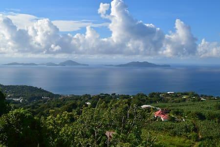 Villa Gwanada avec vue panoramique sur les Saintes - トロアリビエール - 別荘