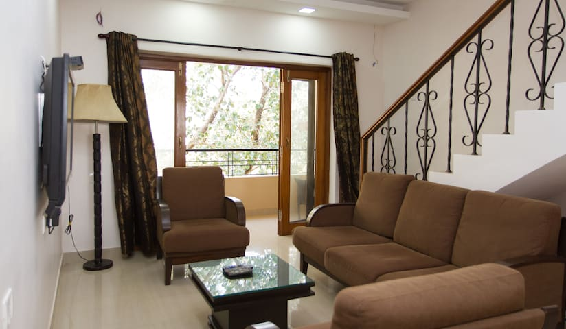 3 BHK Apartment with Private Terrace & Pool - Mapusa - Wohnung