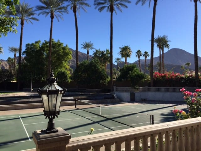Indian Wells Tennis Estate for Photo Shoots