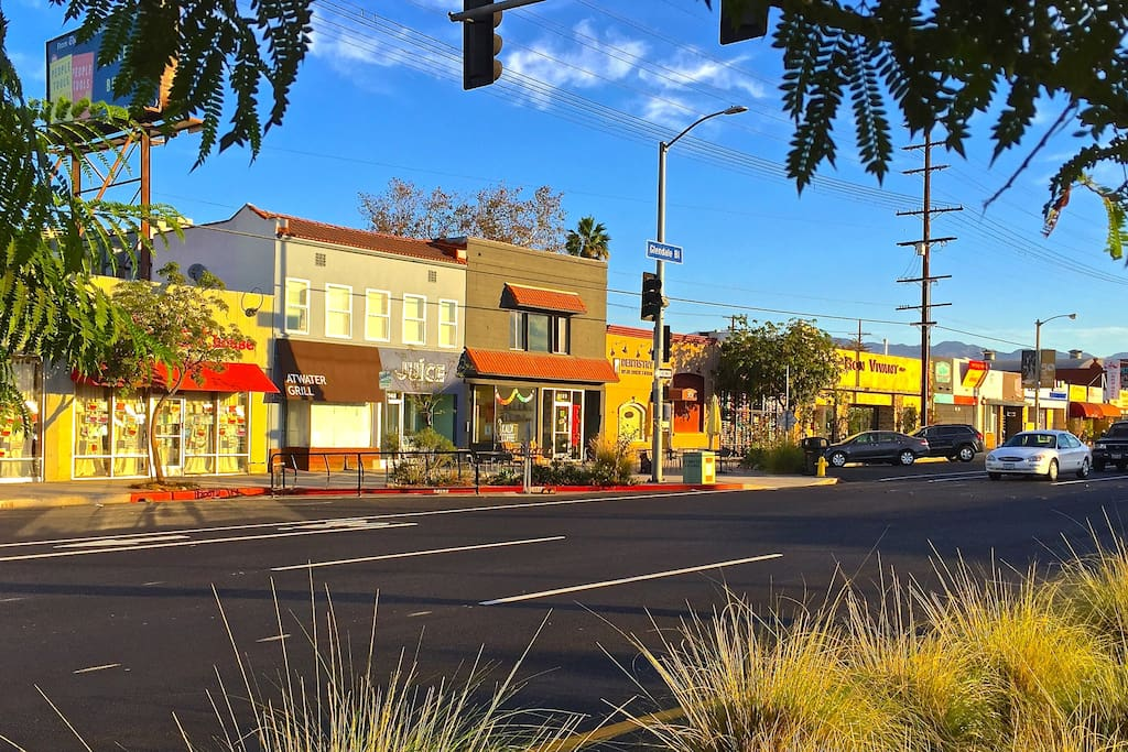 Our home is just steps away from the vibrantly eclectic stores and restaurants on Glendale Blvd.