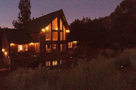 Gorgeous Pine Mountain log home  - Pine Mountain Club - Blockhütte