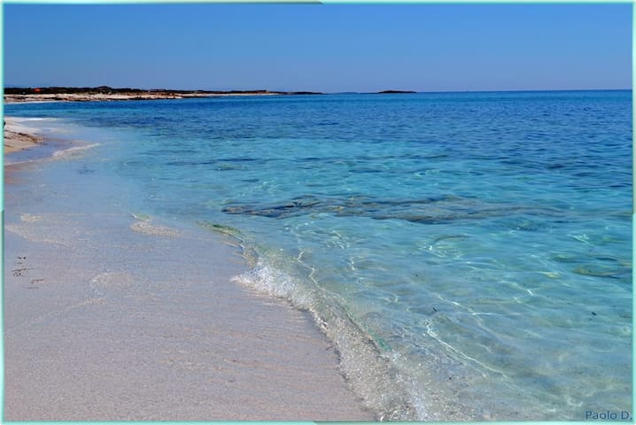 We are at about one mile from the perfect beach of LaCaletta. These waters are in fact really warm. Also the beaches of Budoni and San Teodoro;  a few miles from HOUSE4 (with one bed room + sofa bed)  & HOUSE 6 (with two bed room plus sofa bed ). Ideal.