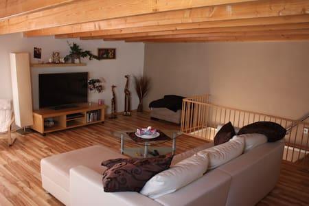 Cozy Maisonette - Apt wooden lounge - Neu-Isenburg