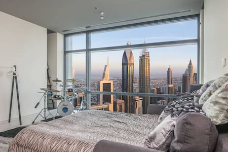 Luxury in front of Burj Khalifa - Dubai