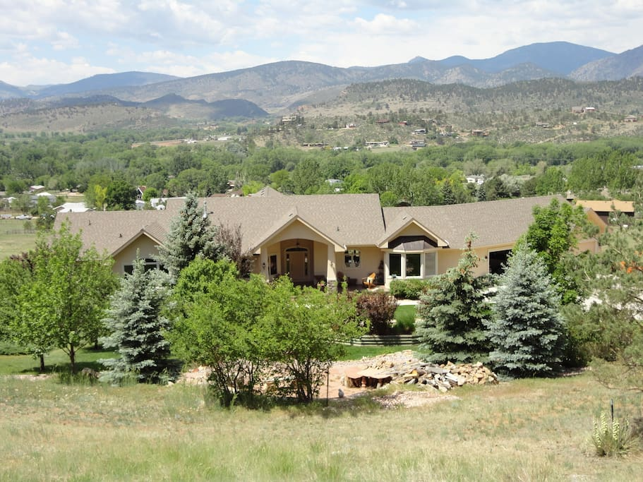 Rocky mountain vacation dream home houses for rent in for Loveland co cabin rentals