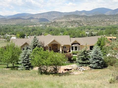 Rocky Mountain Dream Home Lower Level Walkout