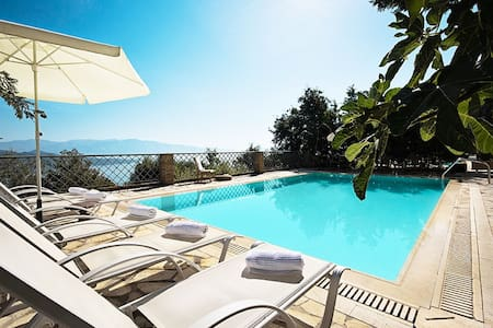 Luxurius, pool, seaviews - Aethra  - Lefkada - Villa