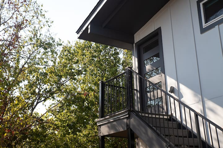 New East Austin guest house with private entrance.