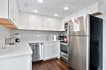 all new stainless steel appliances!
