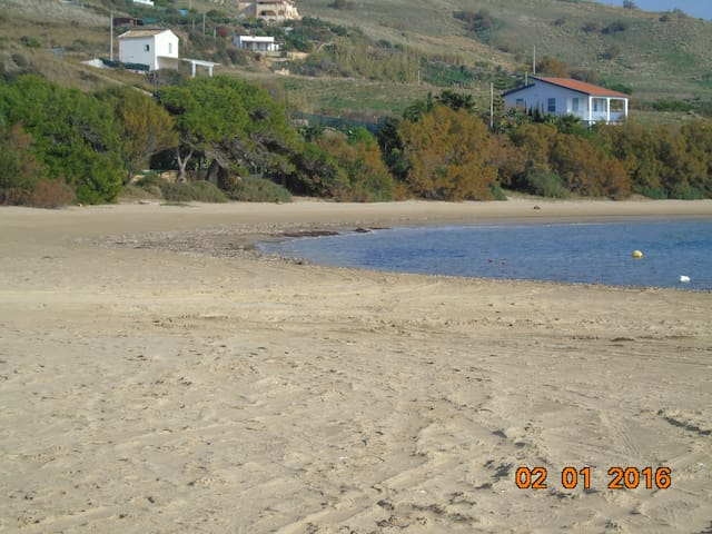 house inclusive sea/beach access, boat - Siculiana Marina