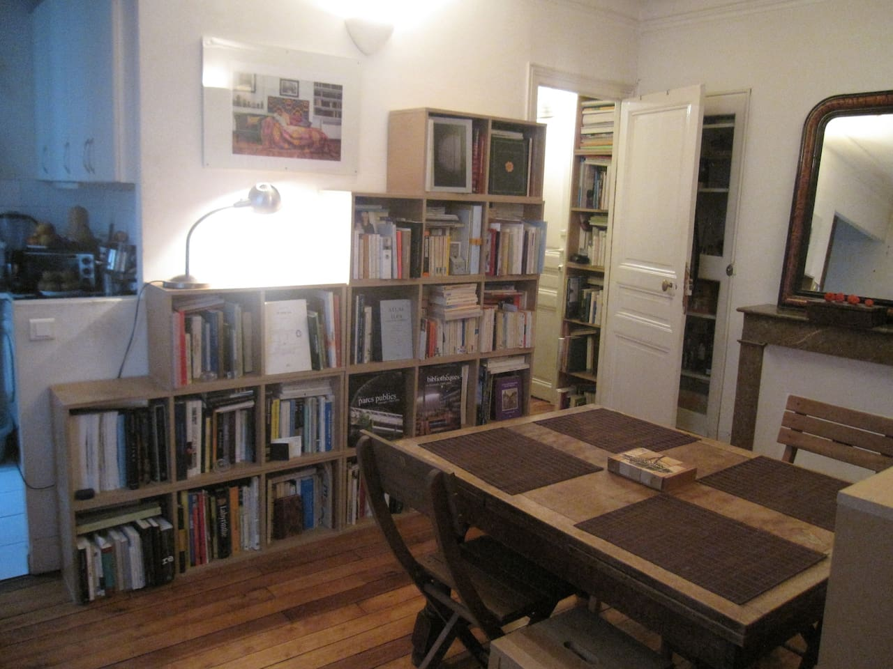 At the foot of Montmartre nice apartment