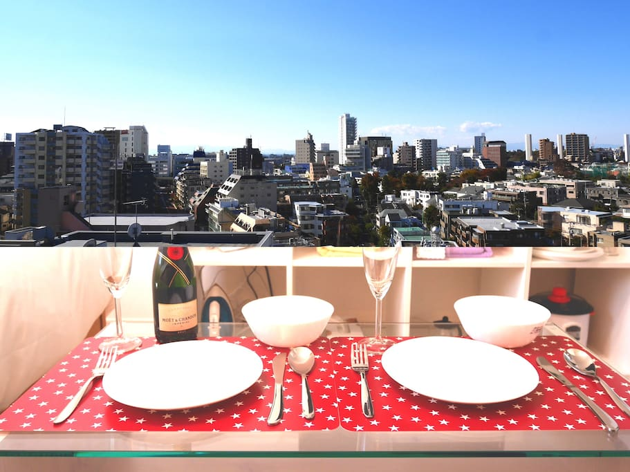 Great view of Tokyo Shibuya