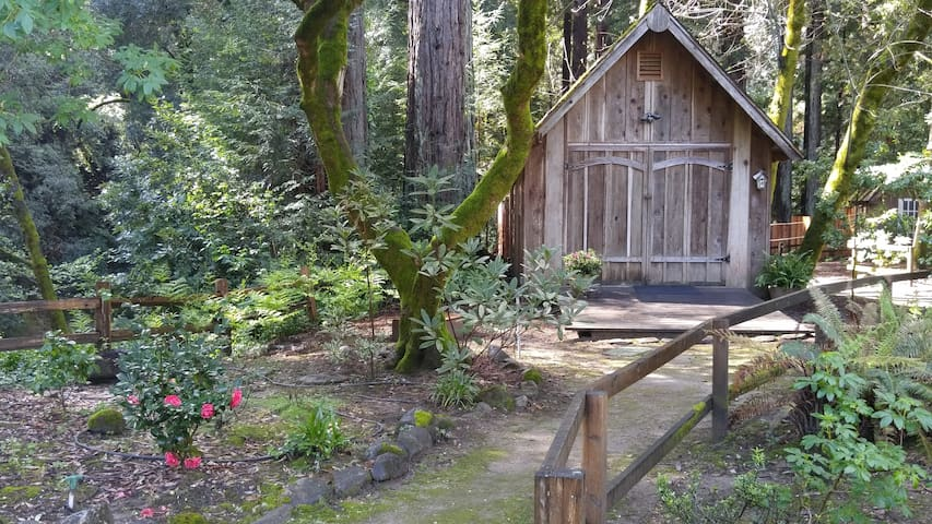 Creekside Redwood Cabin Santa Cruz - Soquel - Chalet