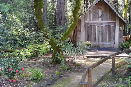 Creekside Redwood Cabin Santa Cruz - Soquel