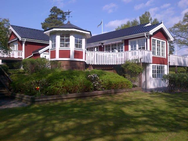 Unique Seafront Villa in Stockholm - Osterskar - 一軒家