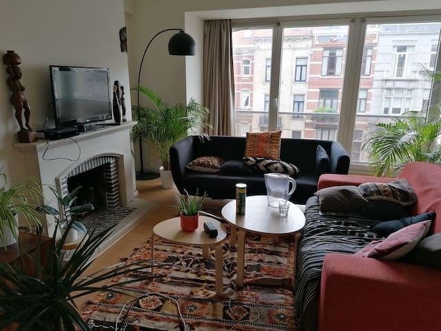Chambre à louer dans un bel appartement spacieux