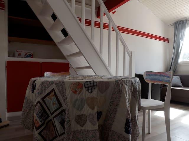 charmant studio, ensoleillé. - Jouy-en-Josas
