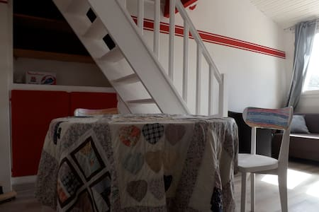 charmant studio, ensoleillé. - Jouy-en-Josas - Huoneisto
