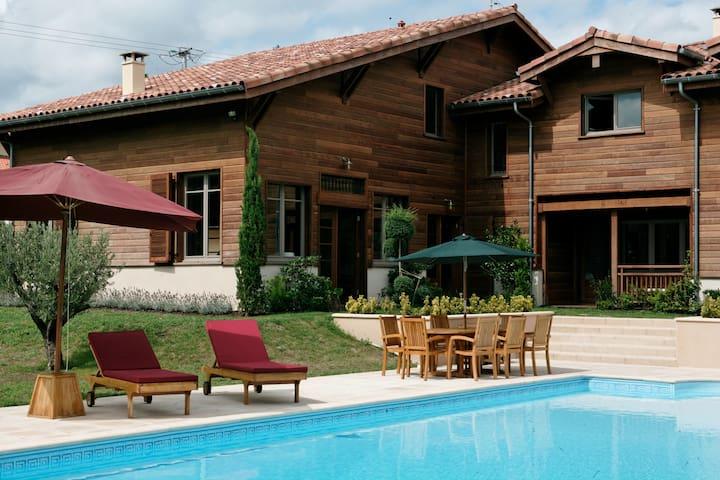 Superbe maison balinaise Landes !!! - Roquefort - Villa