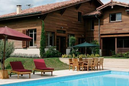 Superbe maison balinaise Landes !!! - Roquefort