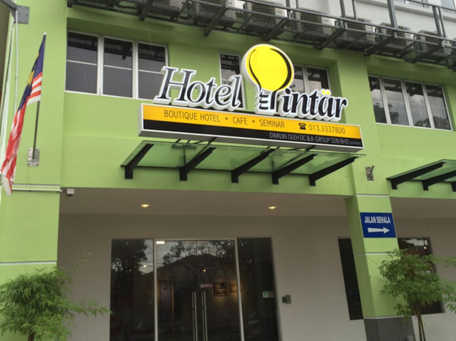 Hotel Pintar Main Entrance