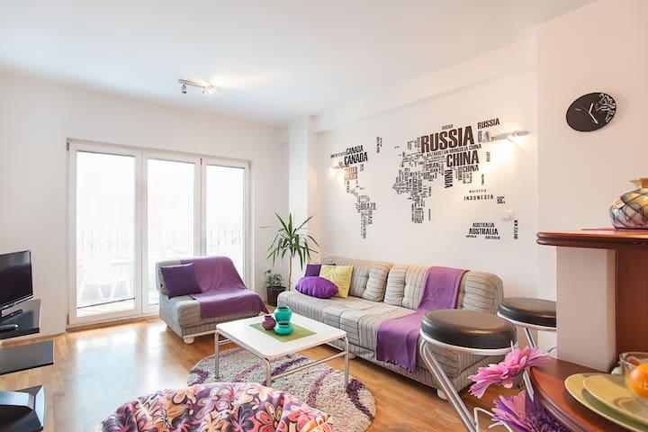 Skopje Center Apartment - Skopje - Lägenhet