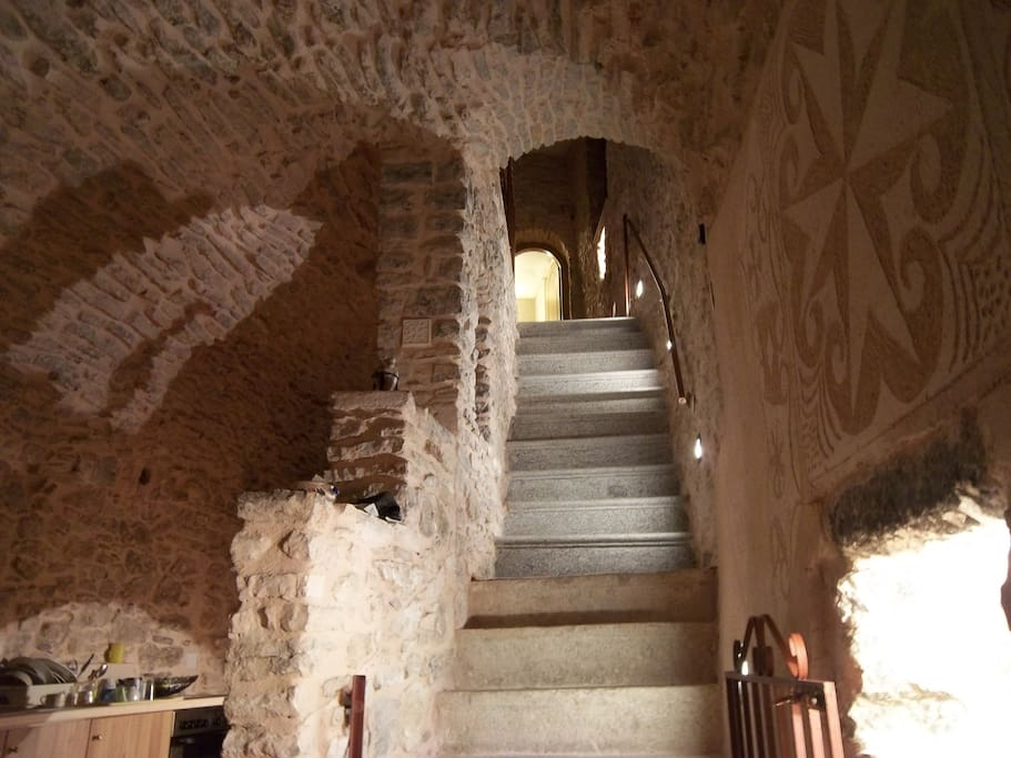 Traditional guest house chrisyis case in affitto a for Piani di casa con guest house annessa