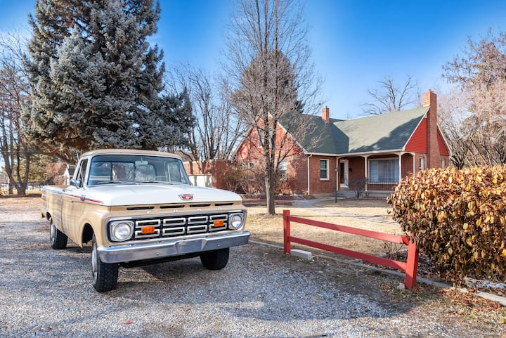Delightful 1950's Era Restored Home on 1/2 acre