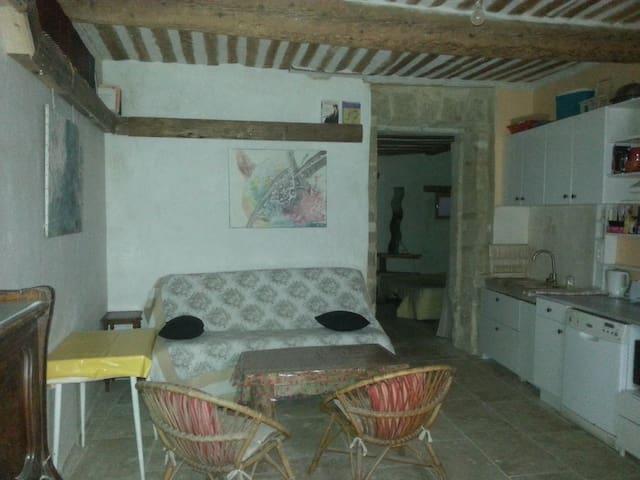 T2 provençal plain-pied CV cour - Orange - Apartamento