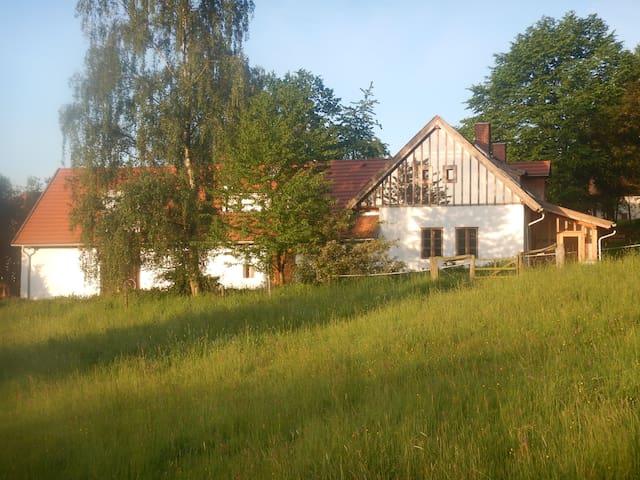 """Dvůr Želichov- """"Dům hospodáře a Vejminek"""""""
